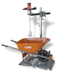 Material Mixer Stand from BN Products