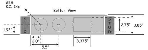 Low Voltage Structured Wiring : Benner nawman bn low voltage enclosure