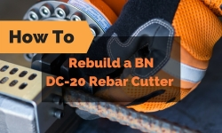 How To Rebuild a DC-20 Rebar Cutter