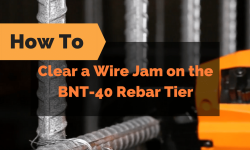 How To Clear A Wire Feed Jam on the BNT-40