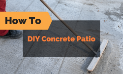 DIY Concrete Patio: How To Pour Your Own Concrete Slab