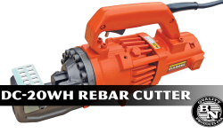 Product Spotlight: DC-20WH Portable Rebar Cutter