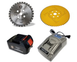 Cutting Edge Saw™ Accessories (Blades & Battery Supplies)