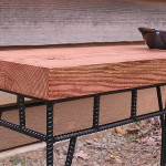 Table made from Rebar