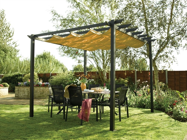 DIY Shade Canopy