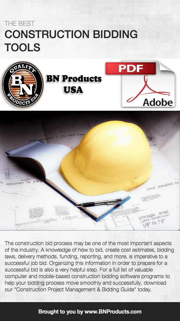 Construction Bidding Tools