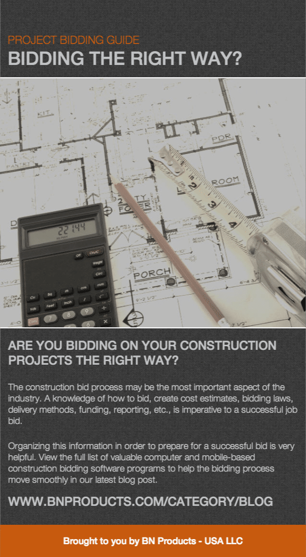 construction project bidding guide