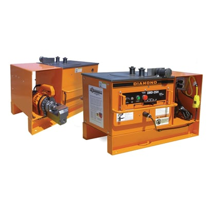 DBC-25H Combination Rebar Bender Cutter from BN Products-USA