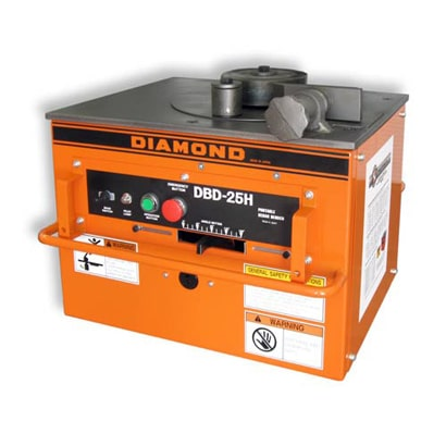 DBD-25H Rebar Bender Used In The Combination Tool