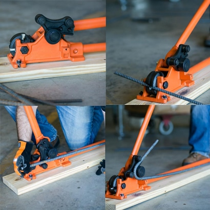 MBC-16B Rebar Cutter-Bender by BN Products-USA
