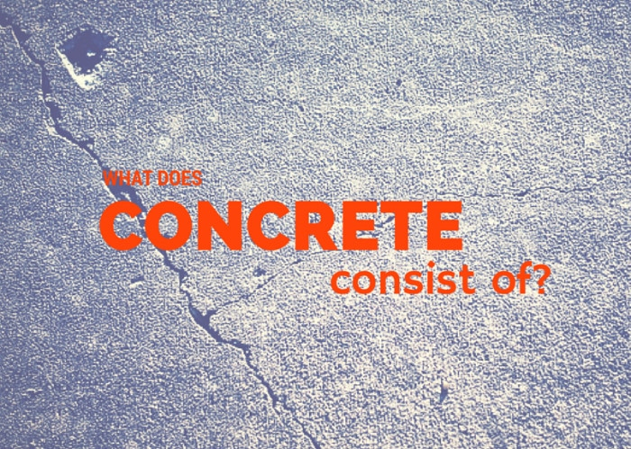 what concrete consists of