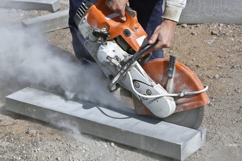 concrete saw cutting