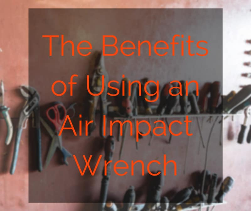 using air impact wrench