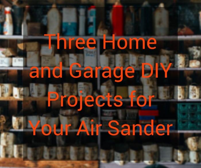 pneumatic air sander