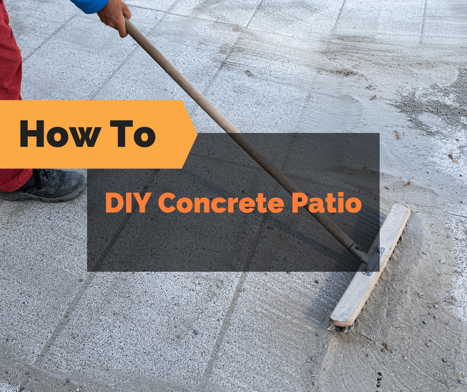 Patio Ideas With Existing Concrete Slab: DIY Concrete Patio: How To Pour Your Own Concrete Slab